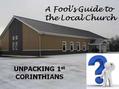 1 Corintians (Jan 8 to Jan 22, 2017)