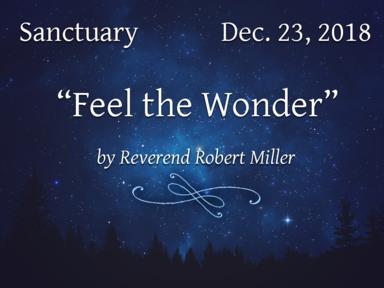 Dec. 23, 2018 - Sanctuary