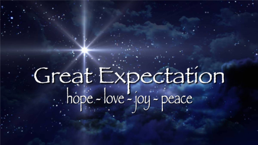 "Great Expectation: ""Peace"" - James Miller, Jr"