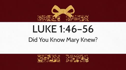Luke 1:46–56