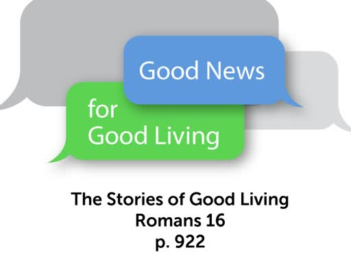 The Stories of Good Living: Is your name on this list