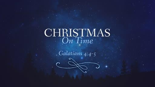 Christmas on Time