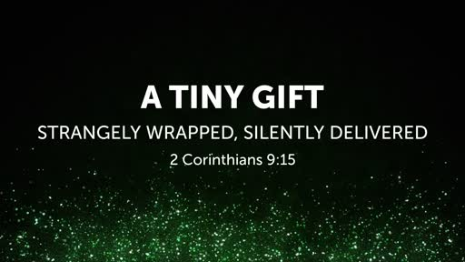 A TINY GIFT—STRANGELY WRAPPED, SILENTLY DELIVERED