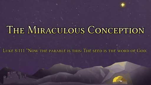 The Miraculous Conception