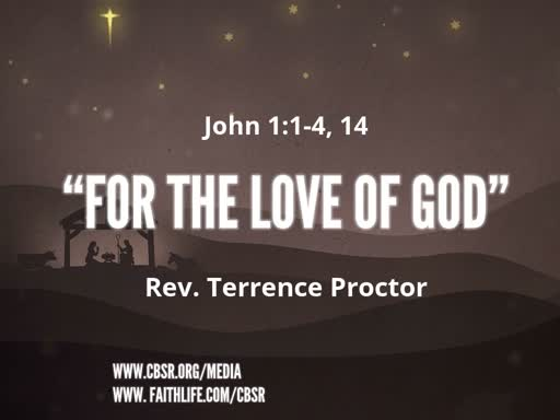 "12-23-18 ""For the Love of God"""