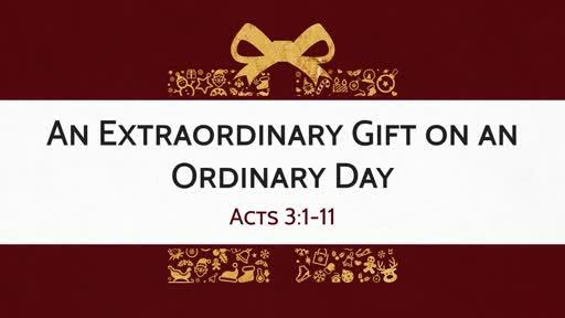 Ordinary Days Can Turn into Extraordinary Opportunities