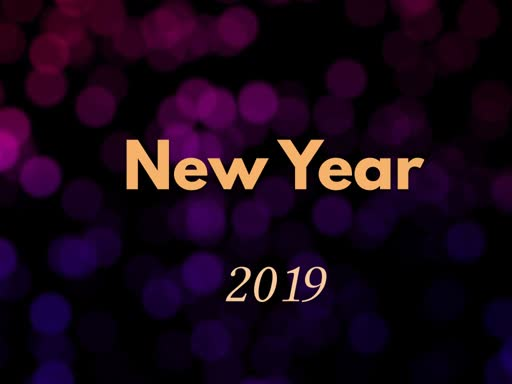 New Year 2019
