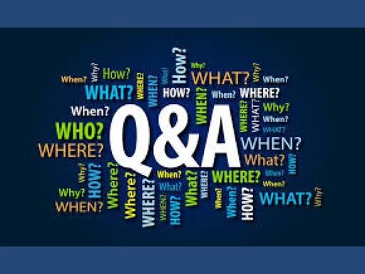 30 December 2018 - Why Q&A