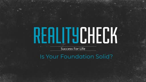 #1 - Is Your Foundation Solid