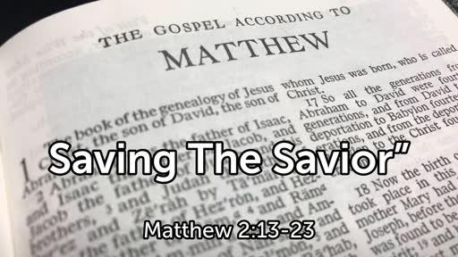 """Saving The Savior"""""""