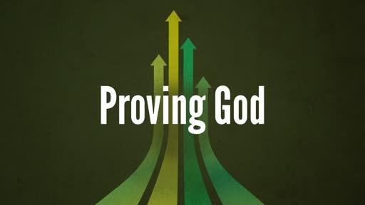 Proving God