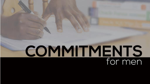 Commitments For Men