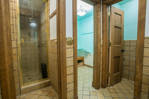 Pool Bathroom and Changing Room