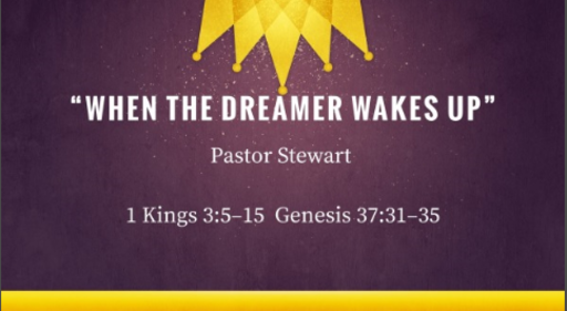 """When the dreamer wakes up!"""