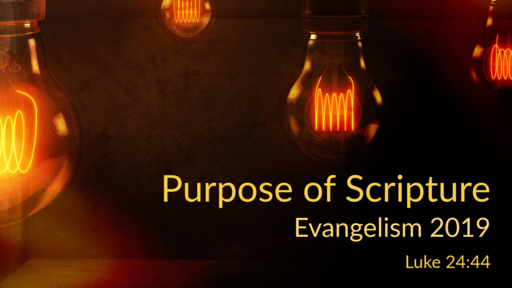 Purpose of Scripture