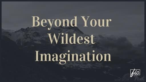 Beyond Your Wildest Imagination