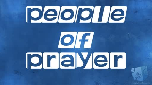 People of Prayer 1-6-19