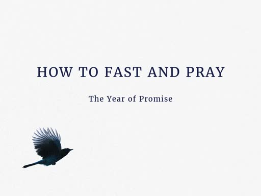 How to Fast and Pray