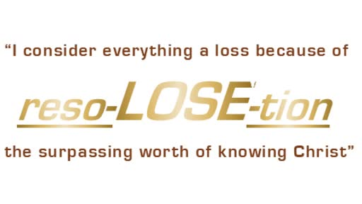 reso-LOSE-tion Series