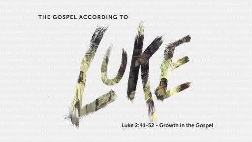 The Gospel of Luke - Week 6