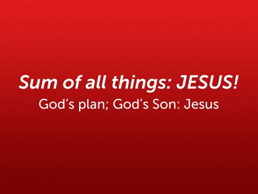 Jesus: The Way of all things