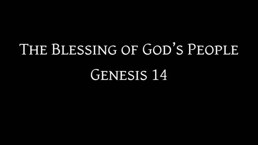 The Blessing of God's People