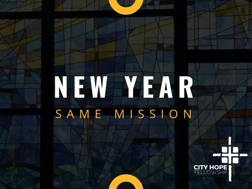 New Year, Same Mission (Micah 6:8)