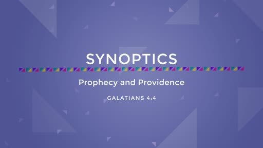 01-Prophecy and Providence