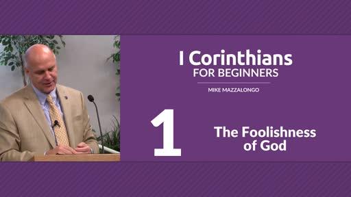 I Corinthians Bible Study