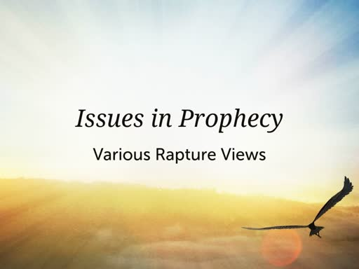 EZ38390035-Issues in Prophecy
