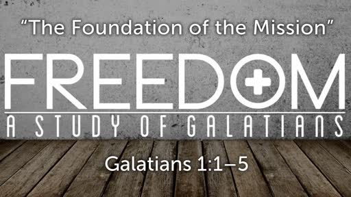 """The Foundation of the Mission"" 