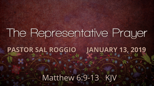 The Representative Prayer