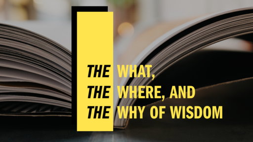 The what, The where, and The why of of Wisdom