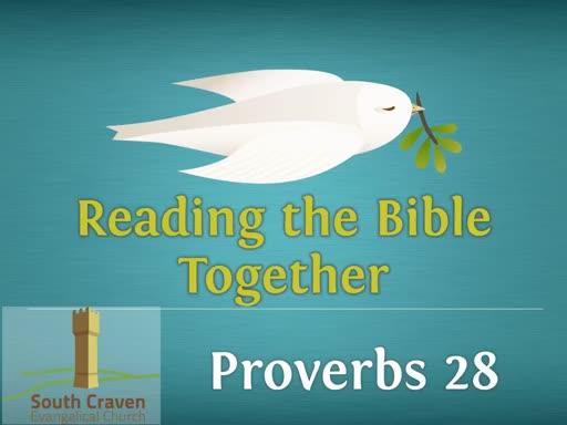 Proverbs 28