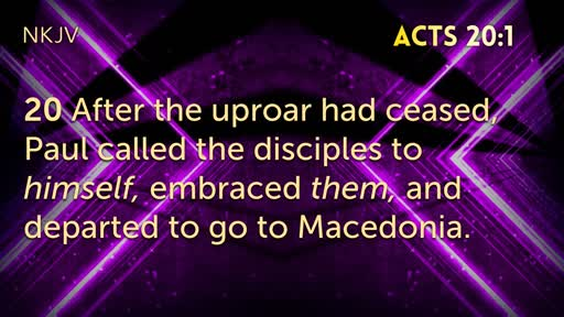 Acts 20:1-38