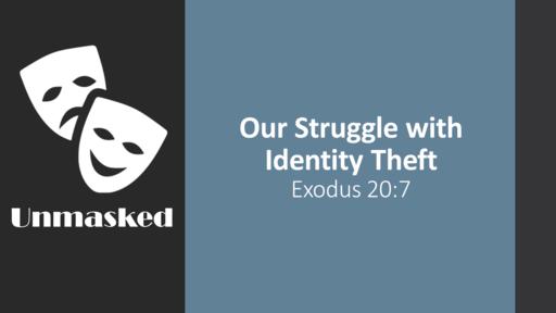 Identity Theft - Faithlife Sermons