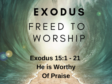 Freed to Worship: He is Worthy of Our Praise