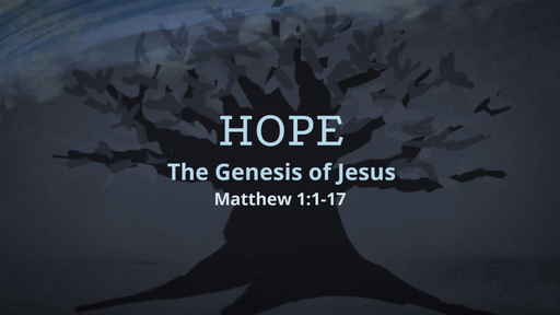 Hope - The Genesis of Jesus