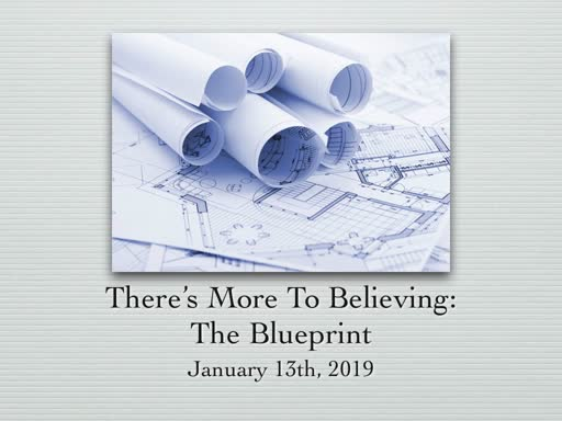 "January 13, ""The Blueprint"""