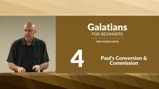 Paul's Conversion and Commission
