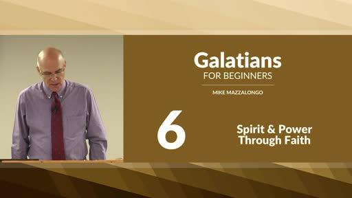 Spirit and Power Through Faith