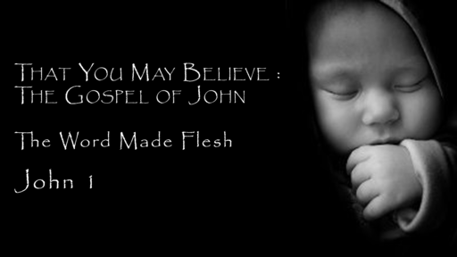 That You May Believe: The Gospel of John