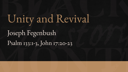 Unity and Revival