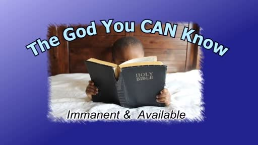 Immanent & Available