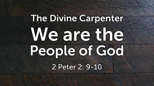 1-20-19 -Being the Church: We  are the  People of God