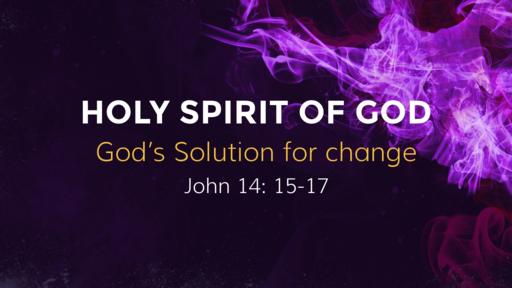 God's Solution for Change  JANUARY 20