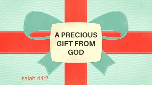 A Precious Gift From God