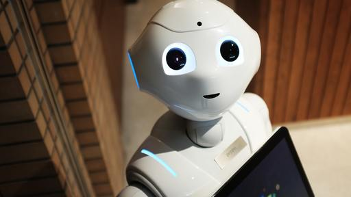 Robot friend named Pepper on sale
