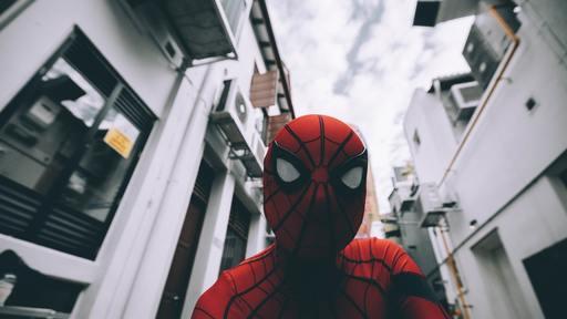 Spider-Man Prevents Theft