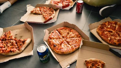 Zero-calorie pizza?